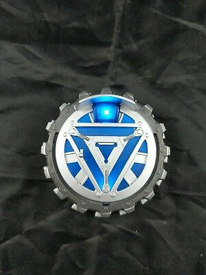 Iron Man 2 Chest Arc Light Reactor Toy Costume Cosplay Hasbro 2010 WORKS