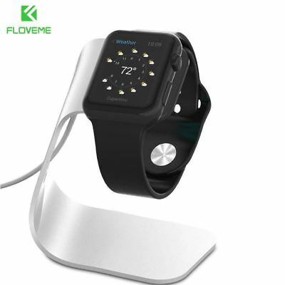 FLOVEME Metal Aluminum Charger Stand Holder for Apple Watch Bracket Charging Cra