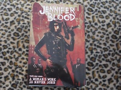Jennifer Blood. A Woman's Work Is Never Done. Vol. 1. Garth Ennis. Preacher.