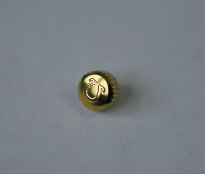 OMEGA YELLOW GOLD PLATED WATCH CROWN KEY (4.99mm x 3.15mm) (OC-9)