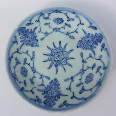 Antique Late 19Th Century Chinese Plate Signed.