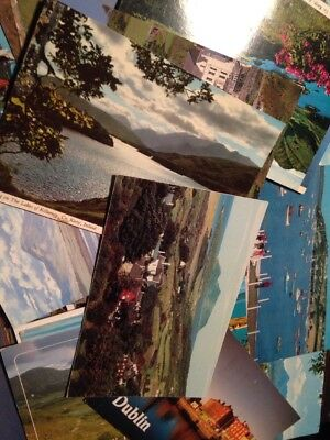 Small Collection Of 30 x Postcards From Ireland Job Lot