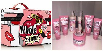 Soap And Glory The Whole She Bang Box and 9 Full Size Items