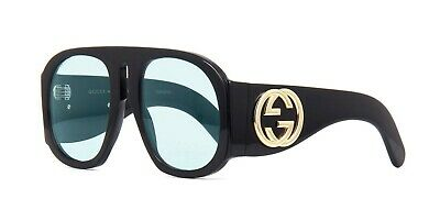 b4187484e4 GUCCI GG0152S BLACK LIGHT Blue (001 AU) Sunglasses -  309.00