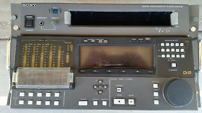 Sony Videocassette Player DVR-P20