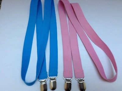 LONG Mitten  / Glove Keeper Clips. Elastic,  perfect for Toddlers,  NEW HANDMADE