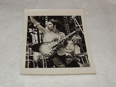"Grateful Dead - Bob Weir & Phil Lesh 8"" x 10"" - Black & White Print - AWESOME!"