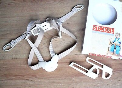 Stokke Tripp Trapp Harness (with guards) - Beige - Excellent Condition