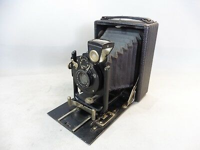 Vintage Device Photo Bellows Glunz N°1 Sur Plate Format 9X12 In Good Condition