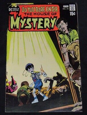 House of Mystery #191 (1971) Neal Adams Cover Nice VF+ 8.5 CA920