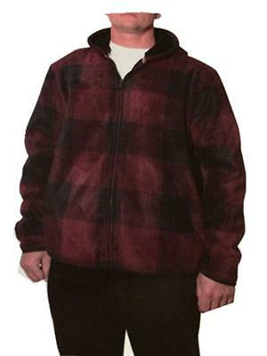 SALE! Freedom Foundry Plaid Fleece Shirt Zip Jacket VARIETY SIZE & COLOR!