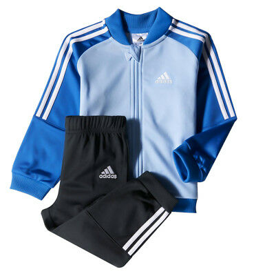 Adidas Infant Baby Boys Kids Full Tracksuit Top Pants Bottoms Track Jacket New