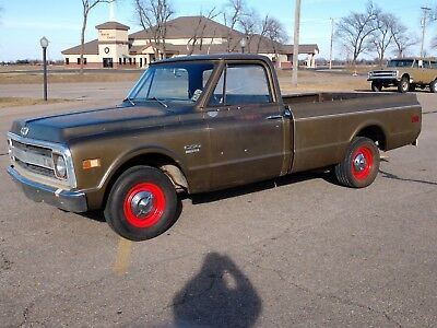 1970 Chevrolet C-10 C10 1970 CHEVROLET C10 PICK UP,PATINA,RAT ROD,BARN FIND 67,68,69,71,72