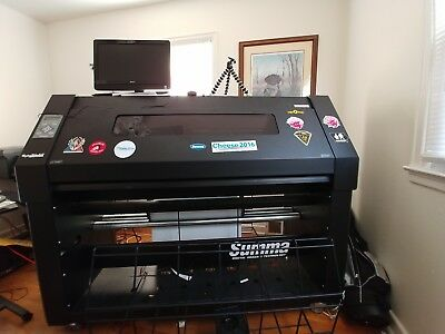 Summa DC4SX Thermal Printer/Cutter with extras