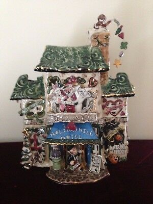 RARE Holiday Hills Hotel by Blue Sky Clayworks NEW In Box
