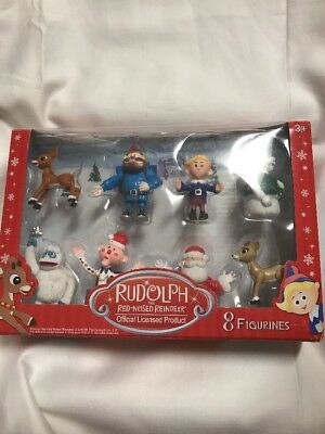 rudolph the red nosed reindeer main characters pvc figurine 22 21