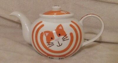 Ginger Tabby Cat Teapot Large by Typhoon