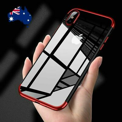For Apple iPhone XR X XS MAX 8 7 6 Plus Case Slim Clear Gel Shockproof Cover