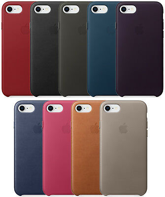 OEM Original Apple Leather Case For iPhone 7 And iPhone 8 All Colors