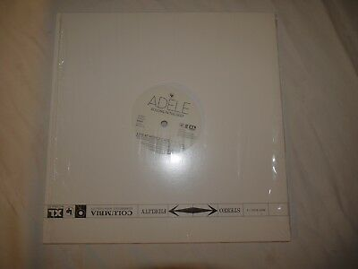 """Adele Rolling in the Deep Vinyl 10"""" record Live & remix 45rpm"""