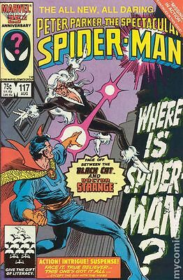 Spectacular Spider-Man #117 (1986) Marvel Comics