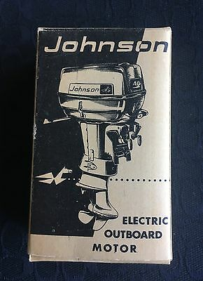 johnson electric outdoor motor with box toy