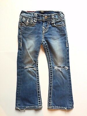 100% Authentic True Religion Billy Super T - Size 4T - Girls Or Boys