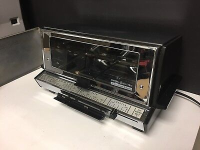 GE General Electric DELUXE TOAST-R-OVEN T93 Toaster EXC