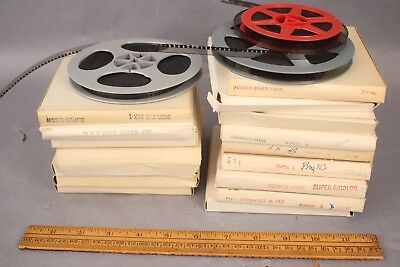 Lot of 15+ Vintage Stag Super 8mm Films B&W / Color Mixed boxed Sturdy Erotica