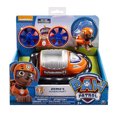 Nickelodeon Paw Patrol Zuma's Hovercraft, works with Paw Patroller