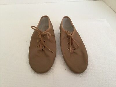 Girls Bloch Lace Up Jazz Shoes Size 12 1/2