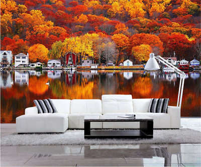 Ripe Majestic Autumn 3D Full Wall Mural Photo Wallpaper Printing Home Kids Decor