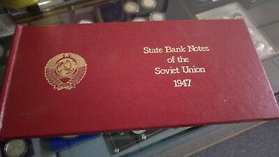 State Bank Notes of the Soviet Union 1947.. ...Higher Demoninations/Large Notes