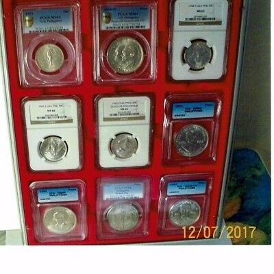 coins Rare Historical Philippine Commemoratives  1921-1994 18 coin set.