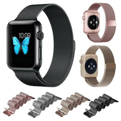 Milanese Magnetic Loop Stainless Steel Strap Watch Bands For Apple Watch 38/42MM