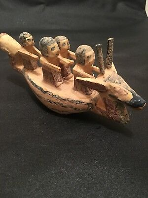 Rare ancient Egyptian Wooden Boat (old Kingdom)