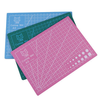 A5 PVC Cut Pad Cutting Mat Self-Healing Handmade Needlework DIY Tool Durable 1Pc