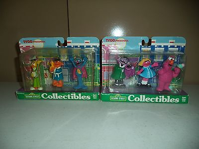 Sesame Street Collectibles - Tyco 1997- New / Sealed