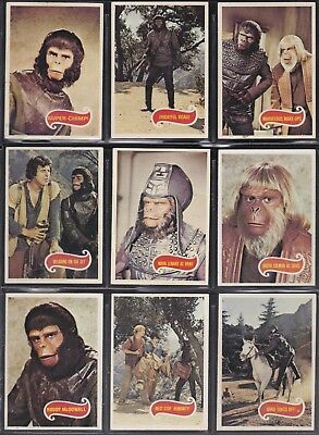 Planet Of The Apes Tv Series - For Sale A Topps 1975 Gum Card Set + Wrapper
