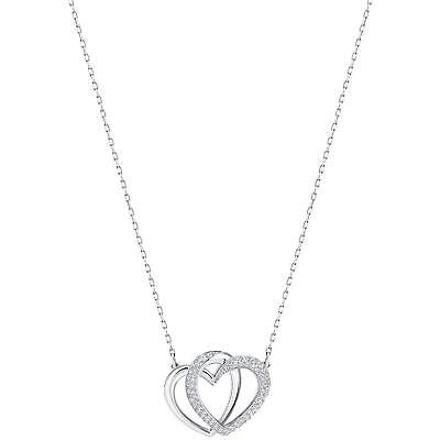 Swarovski Jewelry Dear Necklace, Medium, White