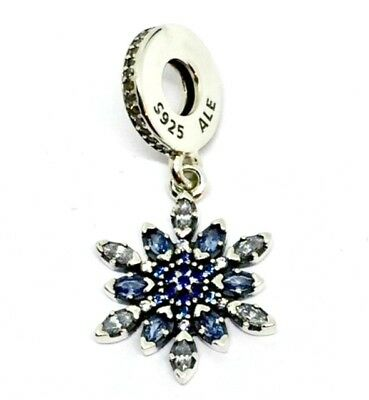 Genuine authentic pandora crystallised snowflake pendant charm s925 genuine authentic pandora crystallised snowflake pendant charm s925 ale aloadofball Image collections