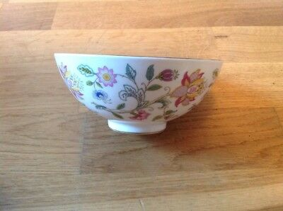 Minton Haddon Hall Pattern 1 Footed Sugar  Bowl 14cm 1st Quality