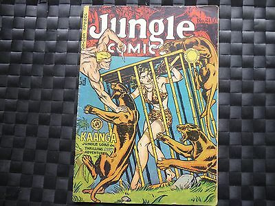 Jungle Comics No 21 Kaanga V.G.