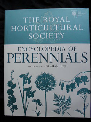 R.H.S. ENCYCLOPEDIA OF PERENNIALS: Graham Rice: Stunning Hardcover 2012