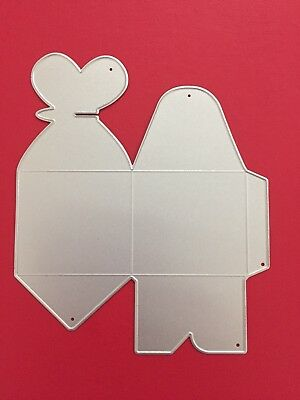NEW• BUTTERFLY TREAT BOX CUTTING DIE For Cuttlebug Or Sizzix