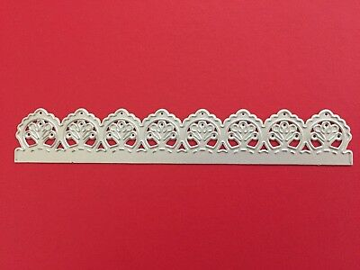 NEW• LACE BORDER EDGE DIE For Cuttlebug Or Sizzix