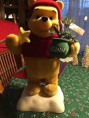 Vintage Winnie The Pooh Bear animated Light Up display Figure