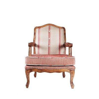 A Lovely Unique Handmade Linen Upholstery Aram Chairs