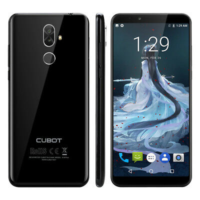 """Cubot X18 Plus 5.99"""" 4G Smartphone Android 8.0 OctaCore 4+64GB 2xSIM WIFI 20.0MP"""