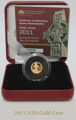 2011 Celtic Cross €20 Gold Proof Coin